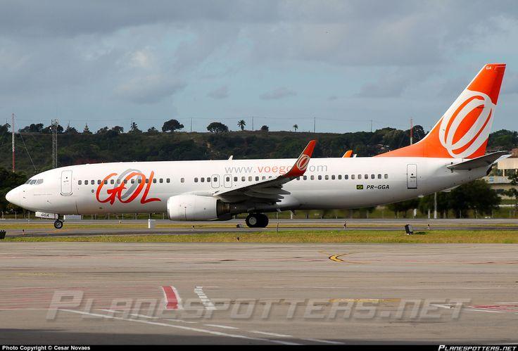 PR-GGA GOL Transportes Aéreos Boeing 737-8EH(WL)