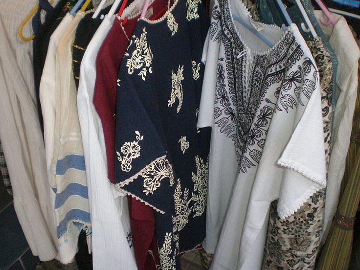 Buldan clothes.  Buldan,Denizli,Turkey