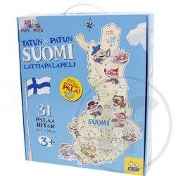 Tatu and Patu�s Finland floor puzzle