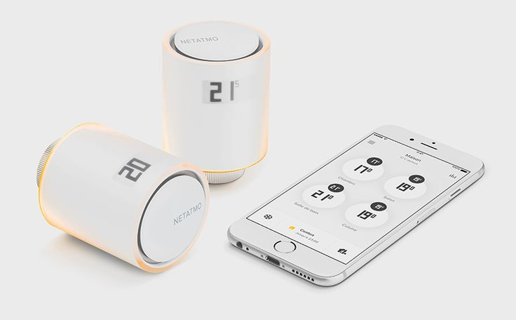 netatmo by philippe starck, a smart radiator valve with voice control designbooms