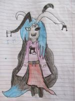 'VEP'Draw's My homestuck oc Violeta Musica by violetelementpaws