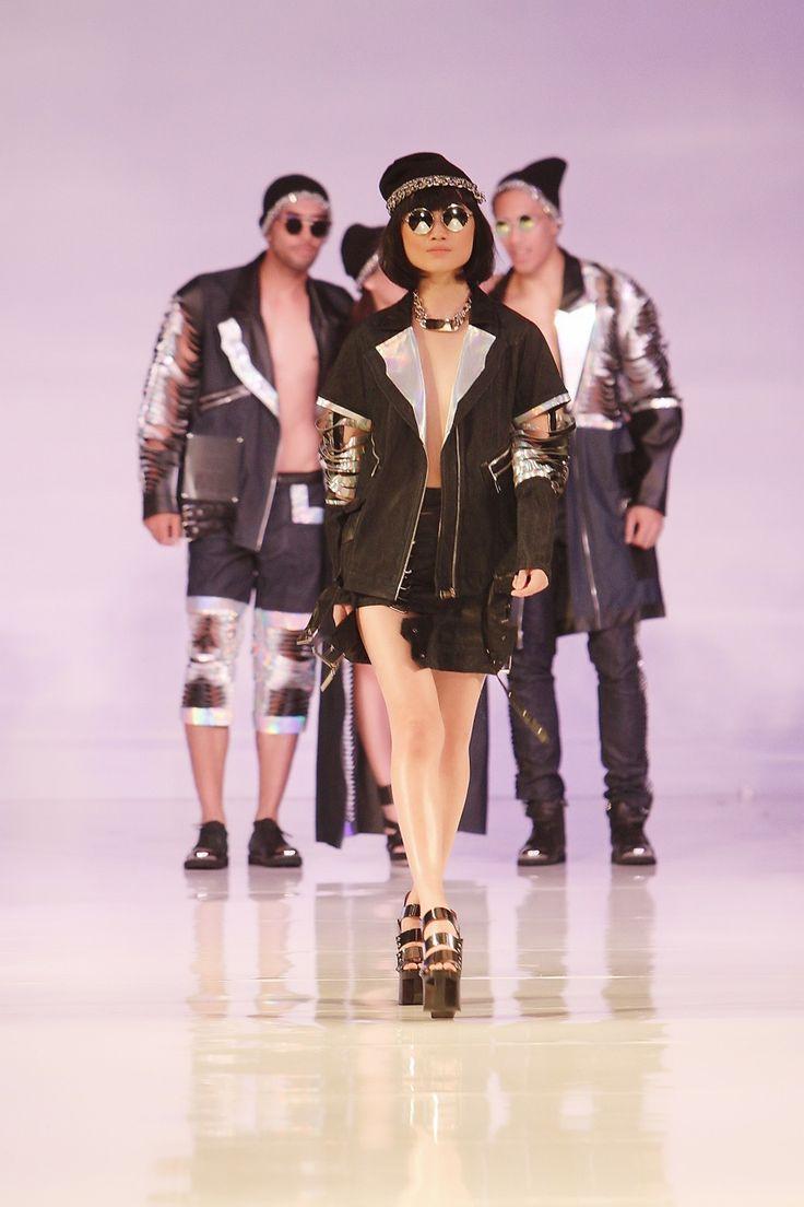 Grunge fashion by Yovana Elita, Jakarta 2014