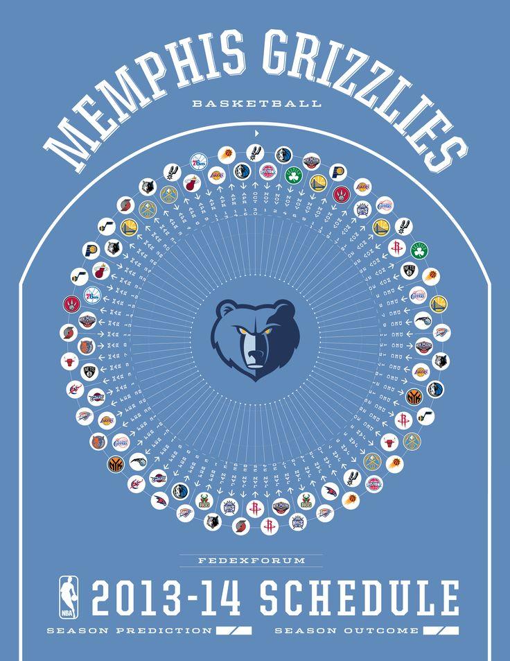 Memphis Grizzlies 2013-14 Schedule
