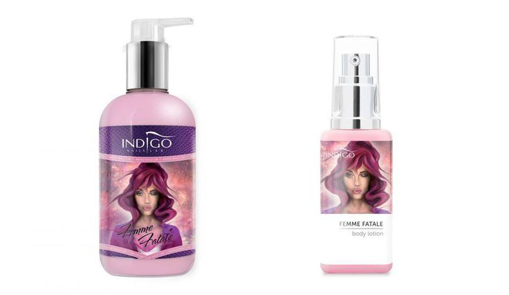"New Body Lotion Indigo ""Femme Fatale"" <3 Sweet, sensual, alluring ... Love it! #femme #fatale #bodylotion #spa #care #new #sweet"