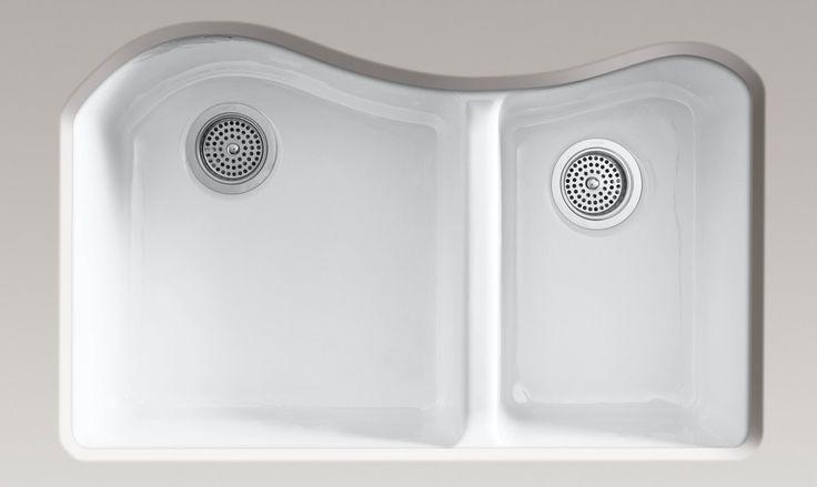 Kohler Lawnfield Sink : Kohler Lawnfield sink: Our sink choice :)