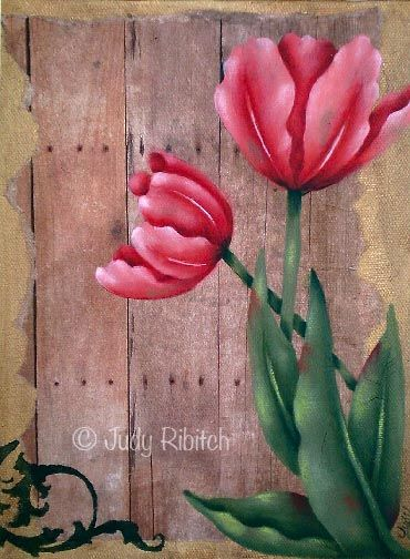 The Decorative Painting Store: Barnyard Tulip, All Pattern Packets