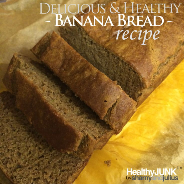 Delicious and Healthy Banana Bread Recipe   Sharny and Julius