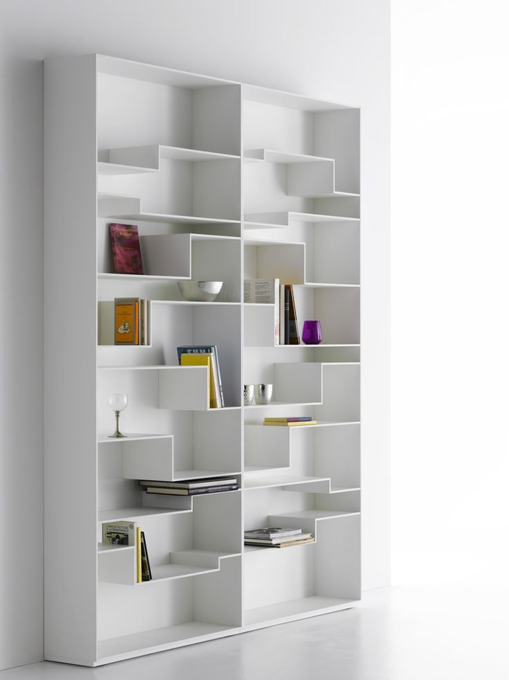 Mdf Bookcase Melody By Mdf Italia Design Neuland