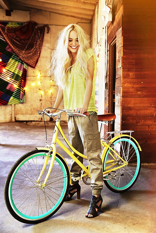 rue21:  Bike rides on these last days of summer.