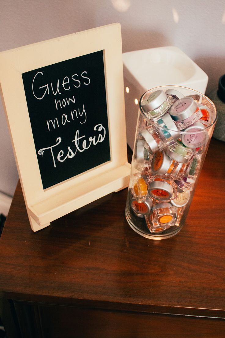 Guess How Many Testers Scentsy Party Game - good way to collect info at the show