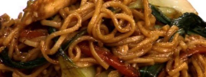 Zeste | Sauté de poulet et nouilles de Shanghai