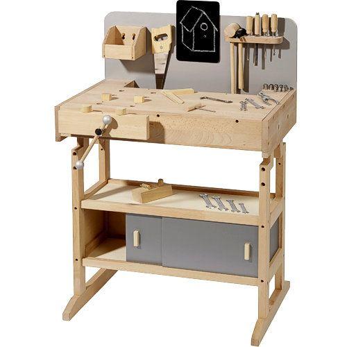 die besten 25 kinder werkbank ideen auf pinterest kinder werkzeugbank werkzeugbank und. Black Bedroom Furniture Sets. Home Design Ideas
