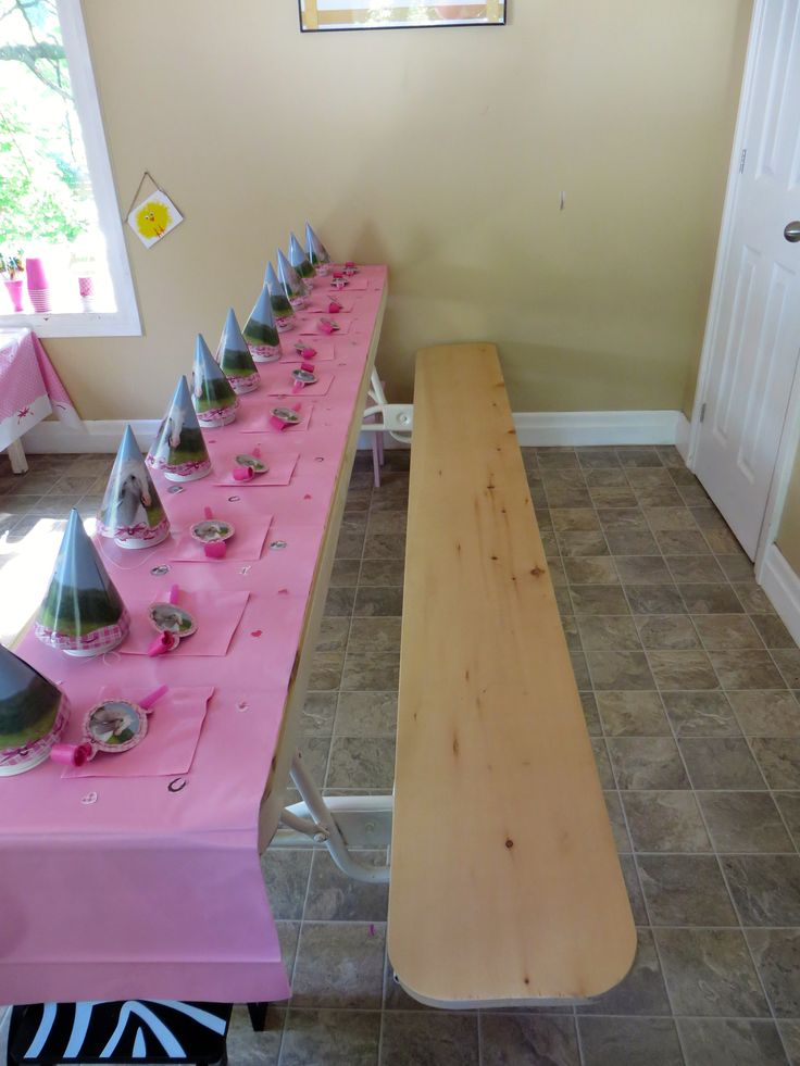 Kids Table Decoration - Horse Party