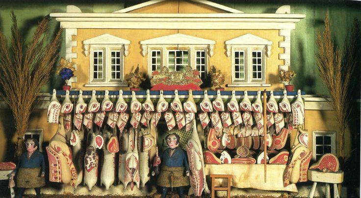 Children's Butchers shop,  circa 1830Butcher Shops, Ry Personalized, Georgian Childhood, Circa 1830, Children Butcher, Shops Front