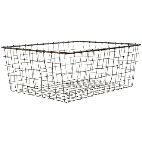 Wire basket, large | Home Accessories Online | Lagerhaus.com