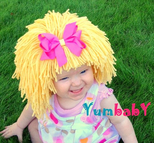 Cute Cabbage patch wig!
