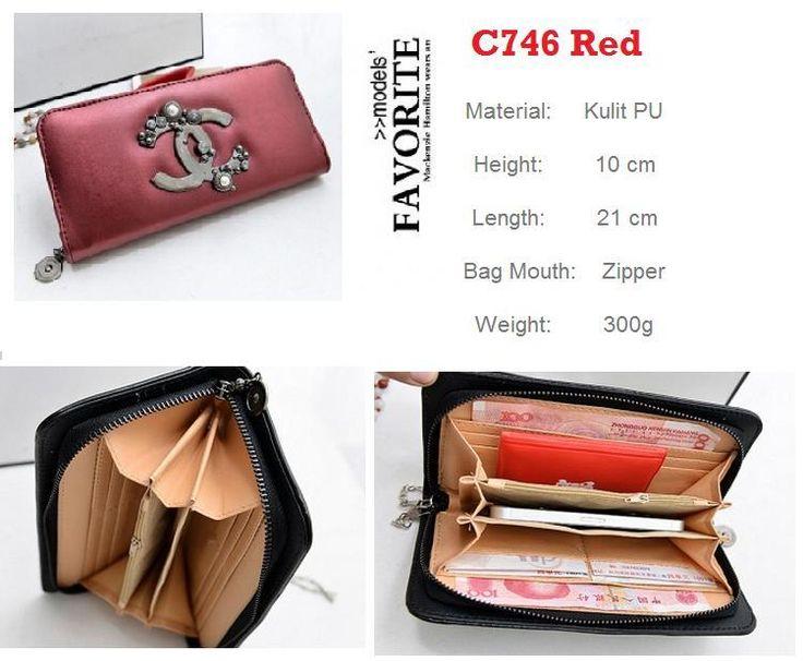 supplier tangan pertama C746 Red
