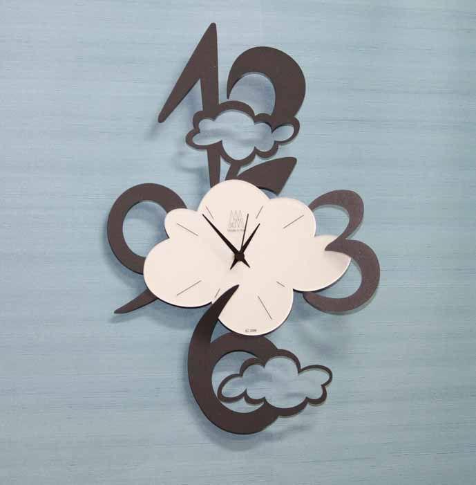 Relojes de Pared NUVOLE. Decoracion Beltran, tu tienda online de relojes de pared decorativos de diseño moderno.