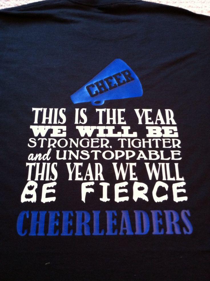 fierce cheerleaders - Cheer Shirt Design Ideas