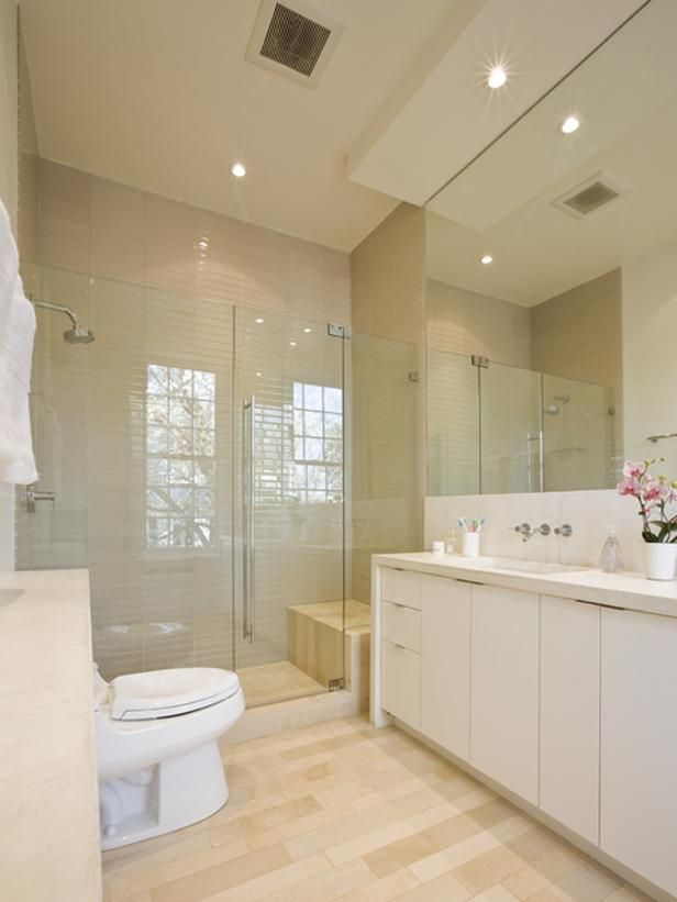shower doors: Bathroom Tubs And Shower, Romantic Bathroom, Large Bathroom Shower, Bathroom Glasses Shower, Tile Shower, Bath Rooms Tile, Traditional Bathroom, Contemporary Bathroom, Bathroom No Shower Doors