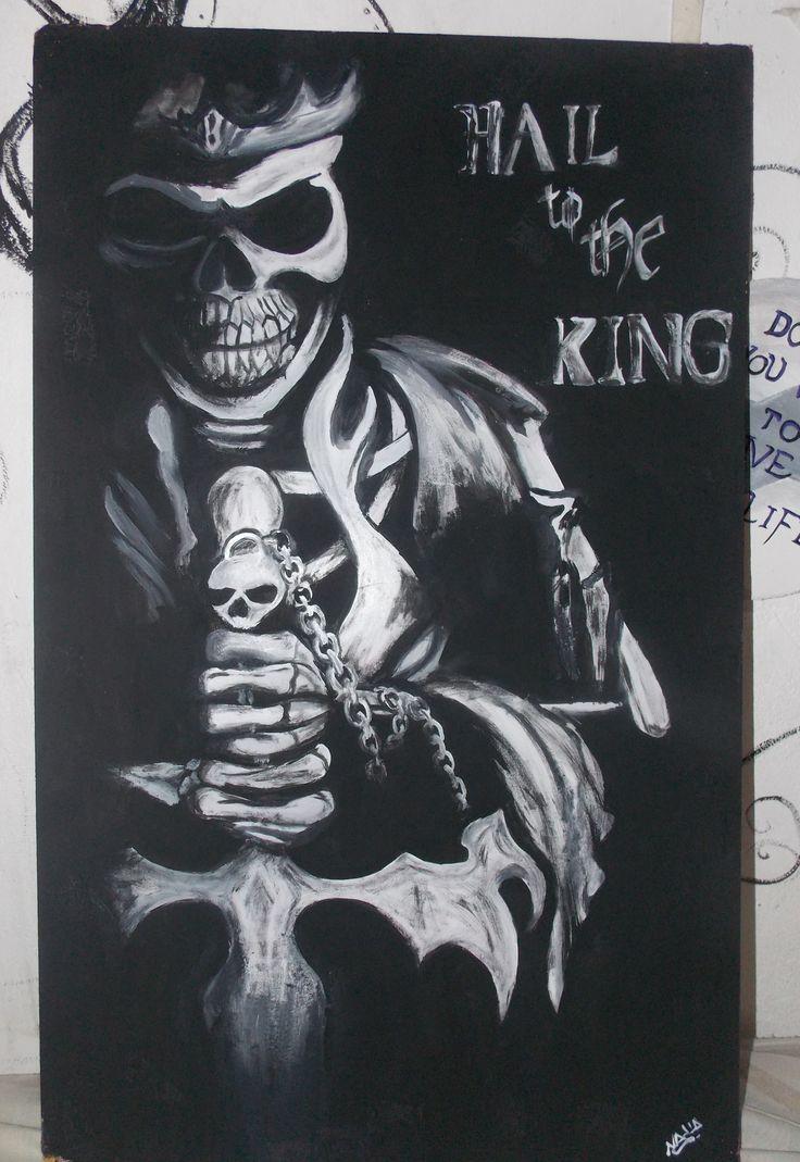 Avenged Sevenfold  Hail to the king fanart