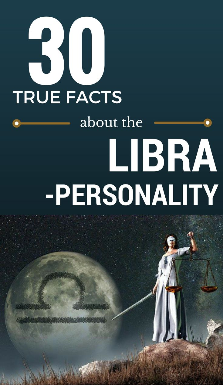 30 True Facts About The Libra Personality