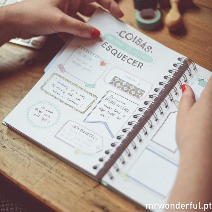 www.mrwonderfulshop.com Agenda 2016 - Que planos fantásticos tens para hoje?