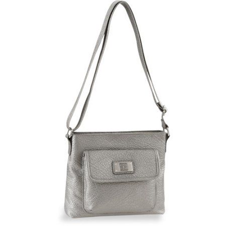 George - Women's Crossbody Bag, Silver