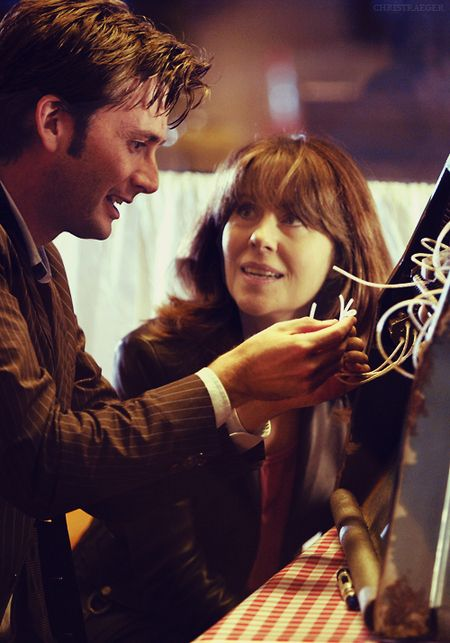 The 10th Doctor & Sarah Jane Smith #doctorwho