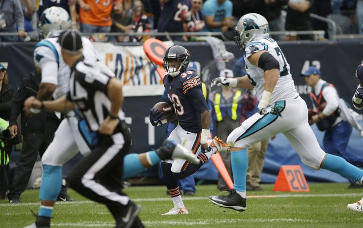 Bears rookie DB Eddie Jackson scores twice off Cam Newton turnovers