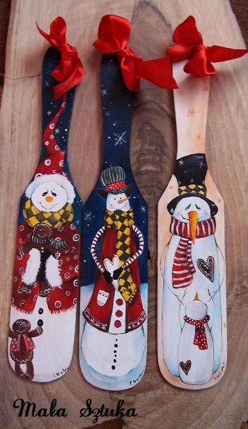 Cucharas y navidad