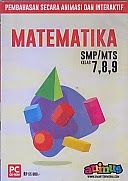 Judul        : CD PEMBELAJARAN SMARTEDU SMP/MTS MATEMATIKA KELAS 7,8,9  Publiser     : Smart Education