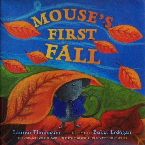 The Book Nook: 5 Awesome Fall Books for Kids - Mouse's First Fall {Felt With Love Designs}