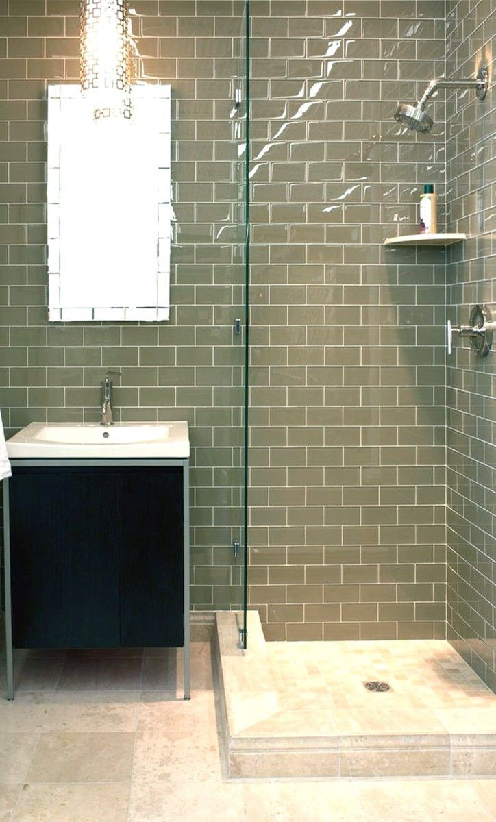 Stealth Sage 10x20cm Brick Wall Tile By Salcamar Spain A Ceramic Gloss