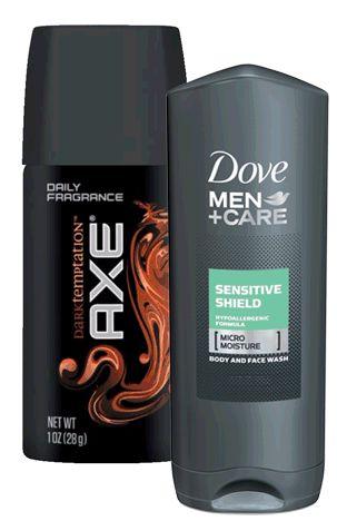 FREE Sample Of Dove Men+Care Body Wash & Axe Dark Temptation Body Spray!! - http://couponingforfreebies.com/free-sample-dove-mencare-body-wash-axe-dark-temptation-body-spray/