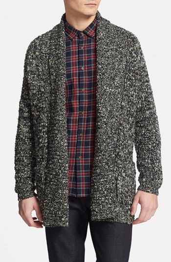 Topman Open Drape Shawl Cardigan available at #Nordstrom