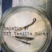 BakeTip DIY Vanilla Sugar Don't throw vanilla beans once you have scraped out the seeds – there is still a lot of flavour contained within the pod. Instead add them to a jar of sugar - over time it will give it a subtle vanilla flavour ready to impart into your baking.