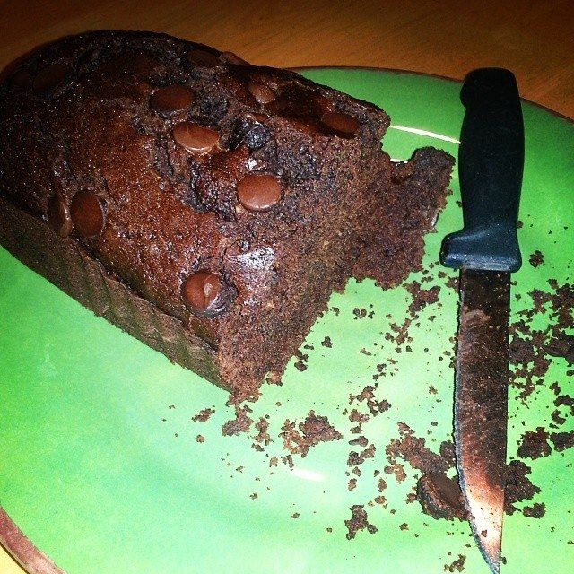 Chocolate Zucchini Loaf…  ||  … Or, Why My Children Have Trust Issues As far as food-food goes, I have some picky eaters. The only actual food all four of our kids will eat is cucumber. Cucumber. That's it. However, when sweets are concerned they're a bit more indiscriminate. Read more... http://mendingthenest.com/chocolate-zucchini-loaf/