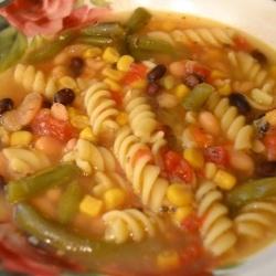 Crockpot: Vegetable Pasta Soup - Rock Your Crockpot: How to make a Vegetable Pasta Soup