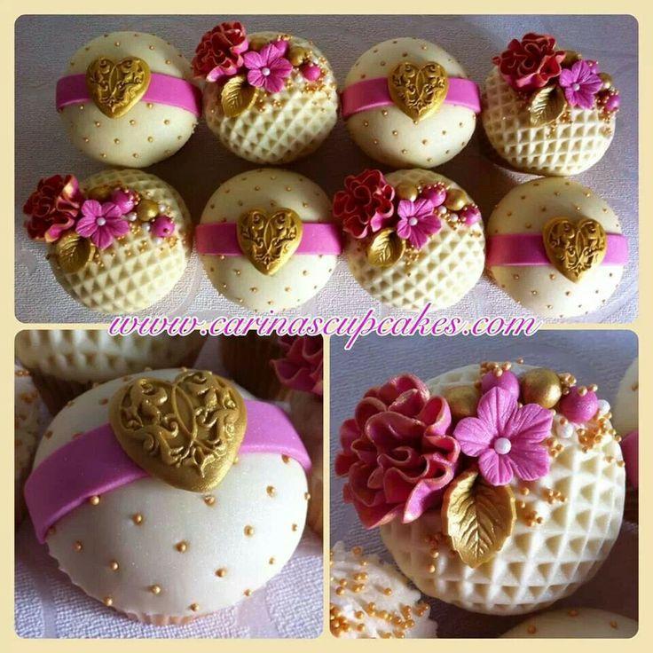 361 best Beautiful Wedding Cupcake Ideas images on Pinterest