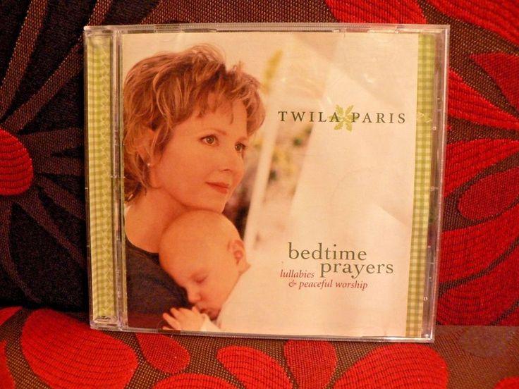 Twila Paris Bedtime Prayers Music CD Lullaby Album #Christian