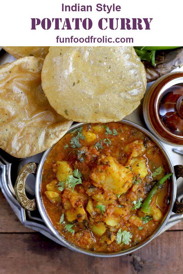 Aloo Ki Sabzi Recipe Indian Food Recipes Sabzi Recipe Vegan