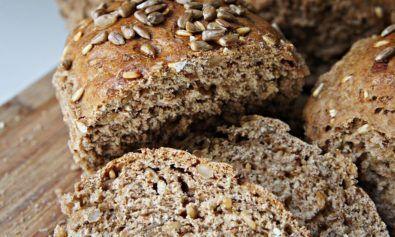 Pão com Farinha de Espelta e Sementes