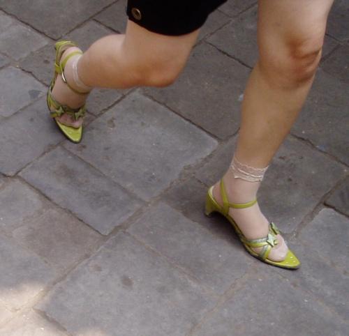 Bella la punta, bello il colore, adorabile il calzino....