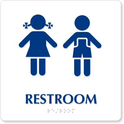 Bathroom Signs Clip Art
