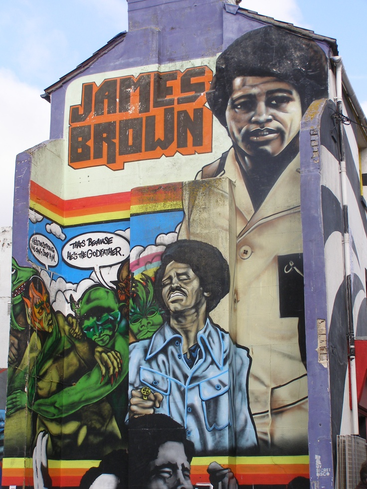James brown  location - soul