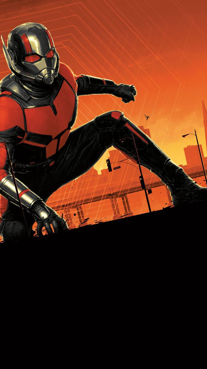 Ant Man And The Wasp 2018 Phone Wallpaper Ant Man Pinterest