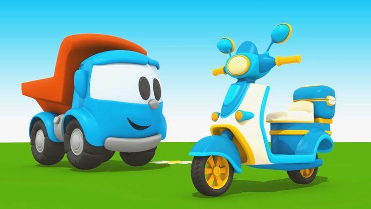 Cartoni animati per bambini - Leo Junior e il motorino!
