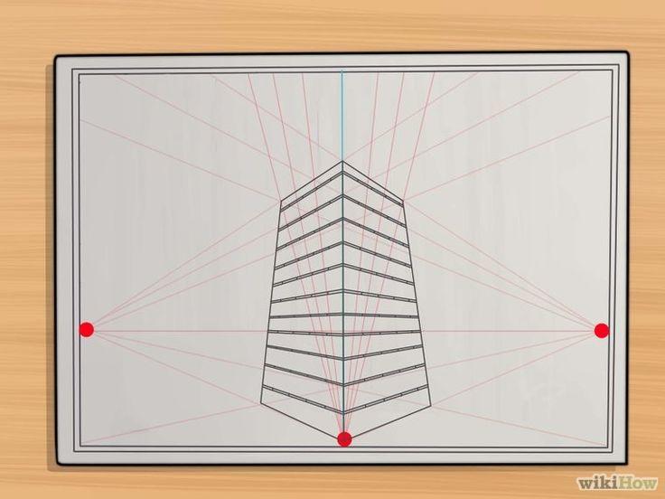 5 manires de dessiner en perspective wikihow - Dessiner Une Piece En Perspective Frontale