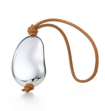 Tiffany Jewelry Elsa Peretti Bean key ring Silver Jewelry-